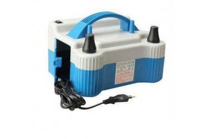 High Power Electric Balloon Air Pump Balloon Inflator with Removable Nozzles
