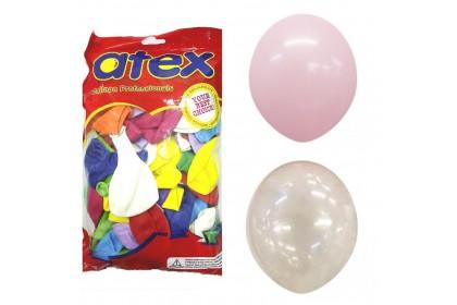 "ATEX 5"" Round Latex Balloons (100pcs)"