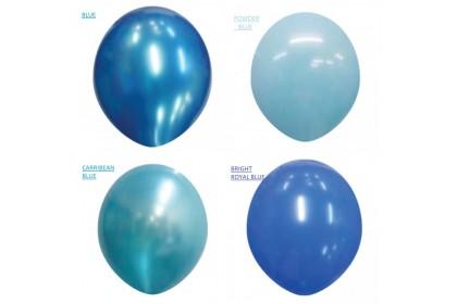"ATEX 12"" Metallic Colours Round Latex Balloons (100pcs)"