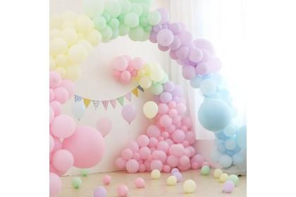 """5"""" Macaron Pastel Latex Balloons (100pcs)"""