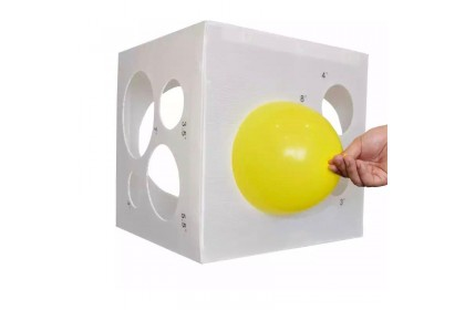 Foldable Balloon Sizer Box (Corrugated Board)